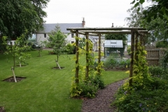 Kitchen Garden, Alcaig, Black Isle