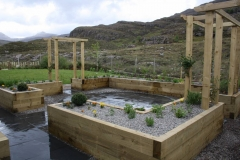 Raised Herb Garden, Torridon