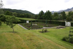 Strathconon vegetable garden